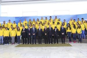 Delegação no Planalto