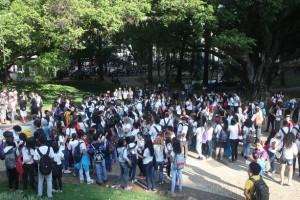 Estudantes-Escola-estadual