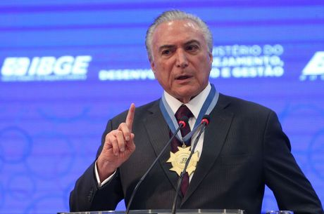 presidente Michel Temer, cerimônia, 3º Encontro Nacional de Chefes de Agências do Instituto Brasileiro de Geografia e Estatística, IBGE