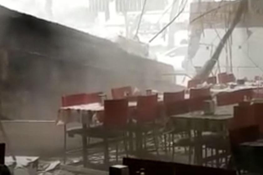 Restaurante-destruído